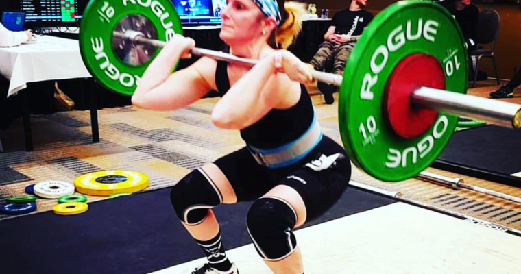 FitMeals Murray at the 2018 National Olympic Lifting Competition